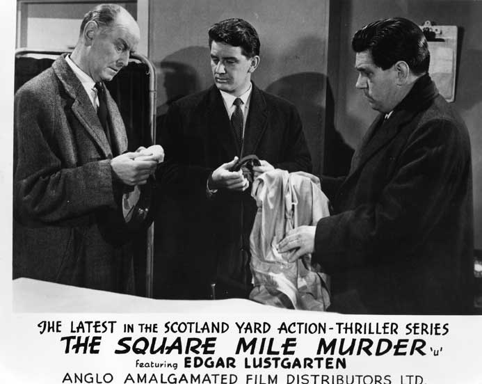 The Square Mile Murder Front of House still 1