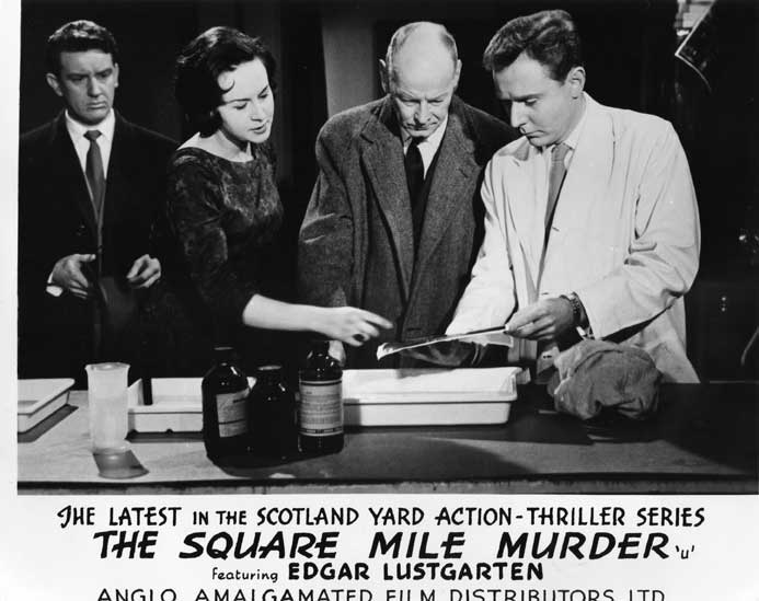 The Square Mile Murder Front of House still 2