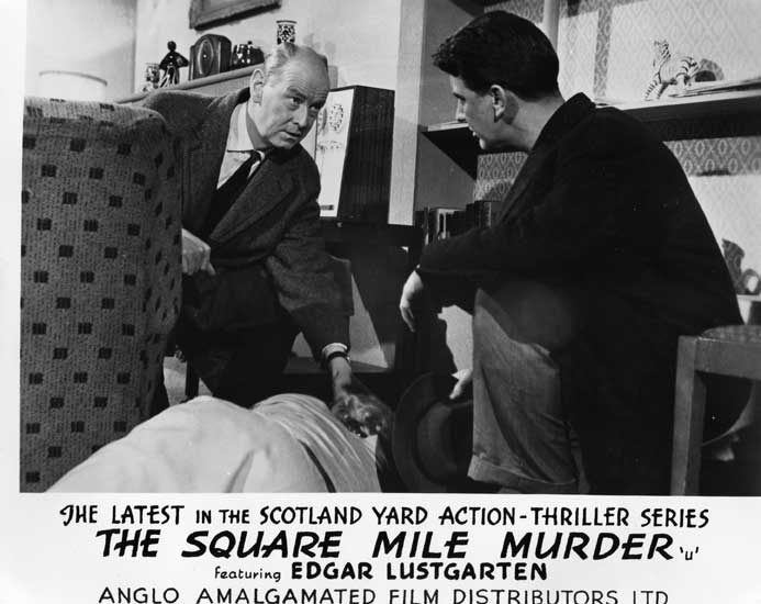 The Square Mile Murder Front of House still 3
