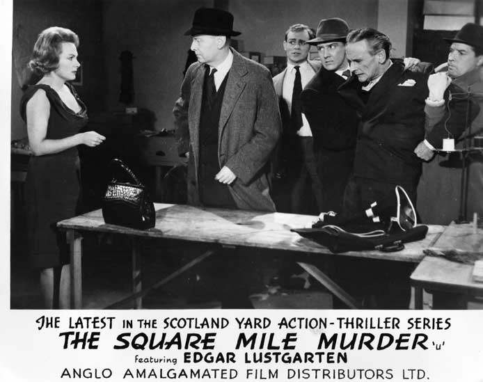 The Square Mile Murder Front of House still 4