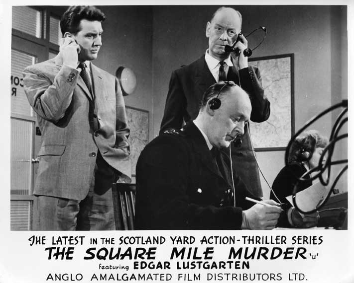 The Square Mile Murder Front of House still 5