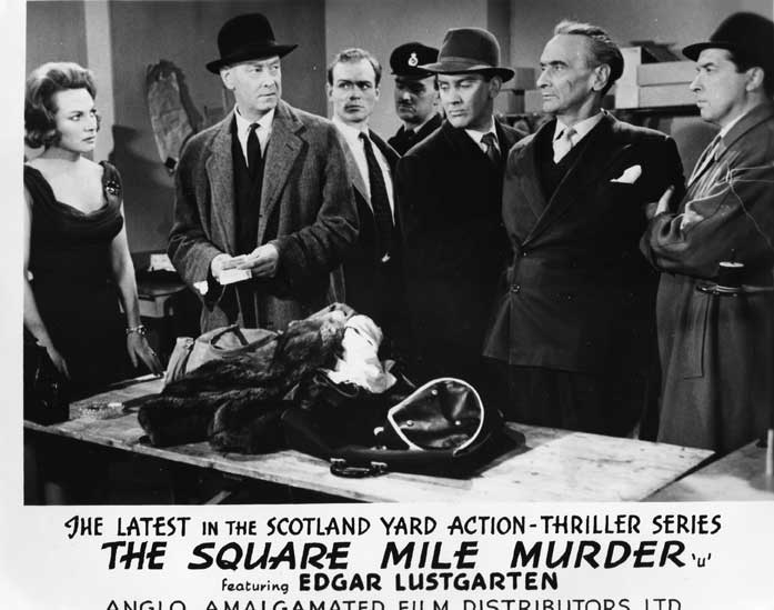 The Square Mile Murder Front of House still 6