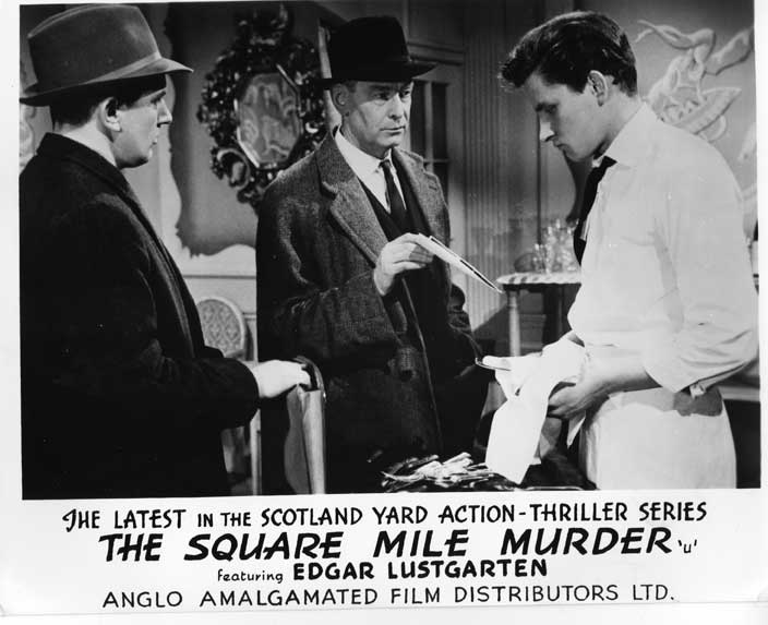 The Square Mile Murder Front of House still 7
